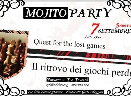 Mojito Party! Sabato 7 settembre